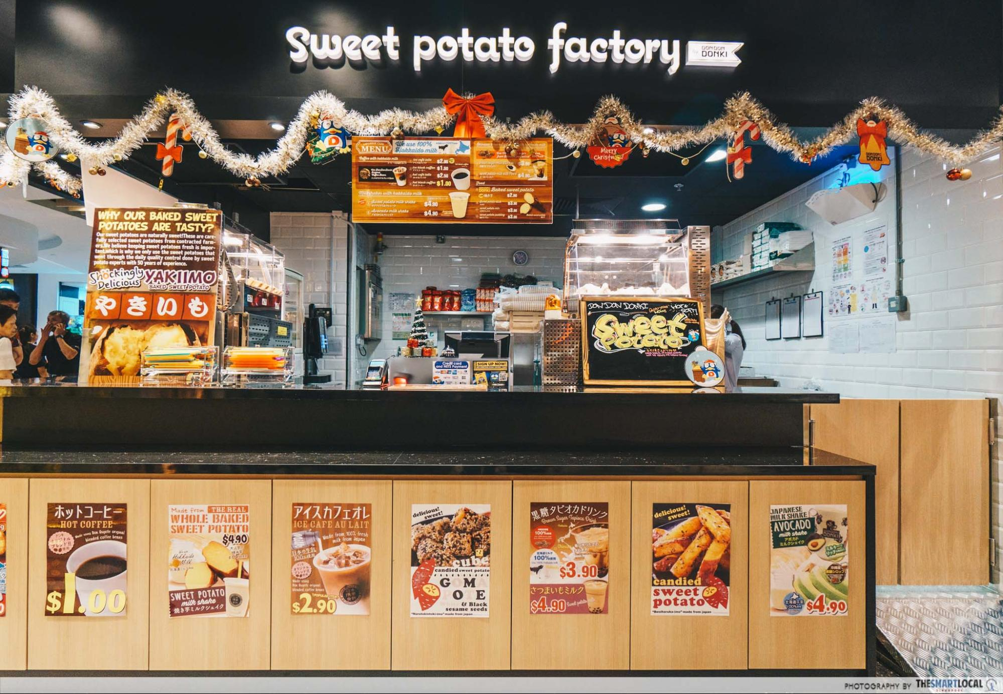 Don Don Donki - Sweet potato factory