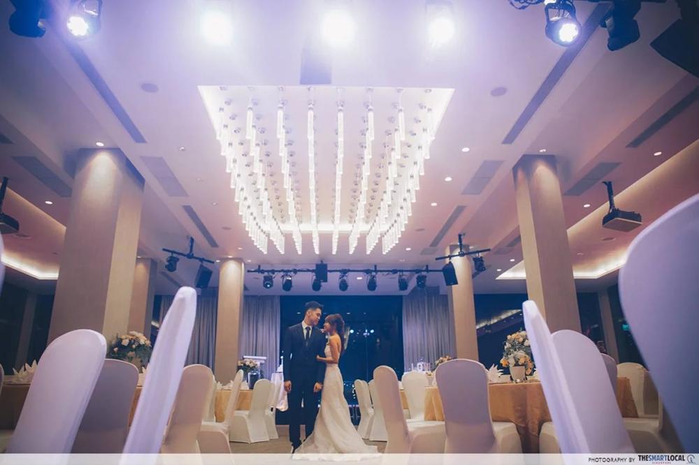 Faber Peak Ballroom Wedding