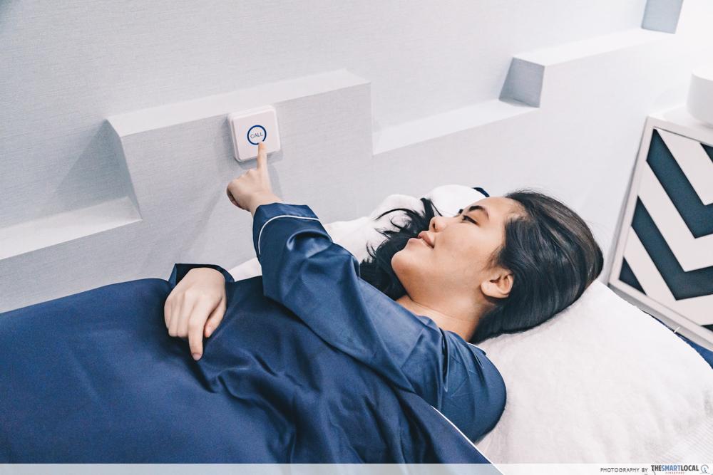 Call Button ICON Aesthetics 360 Treatment