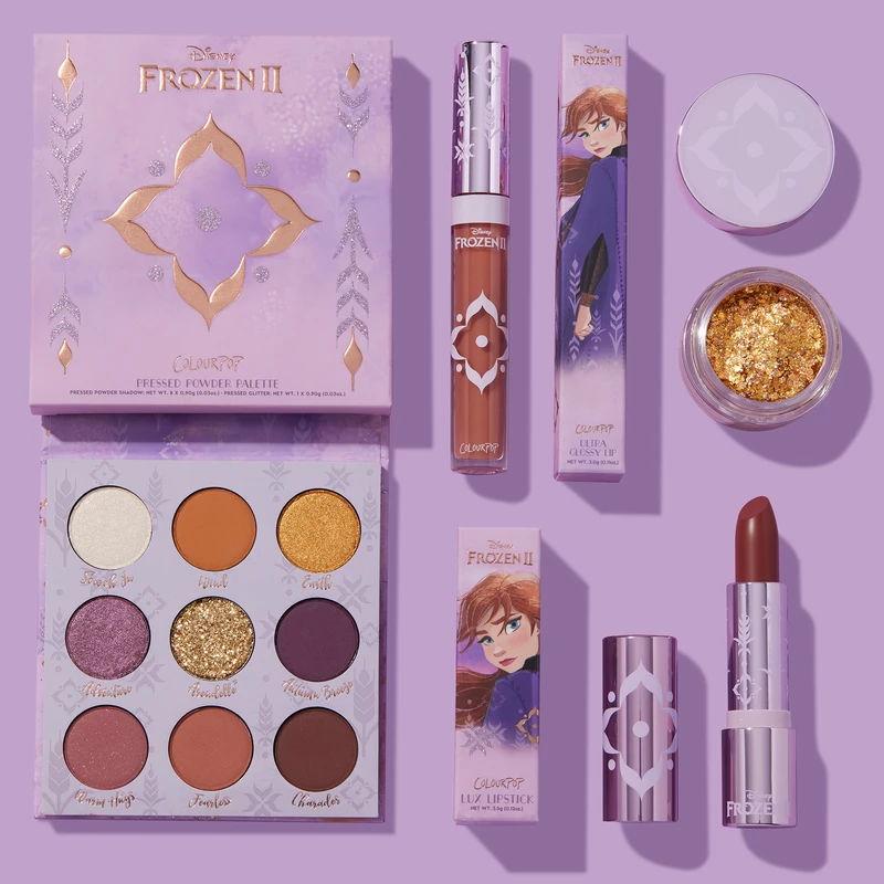Frozen 2 ColourPop makeup