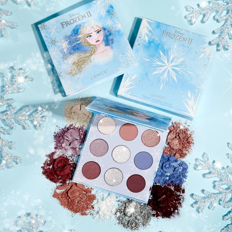 Frozen 2 ColourPop eyeshadow palette