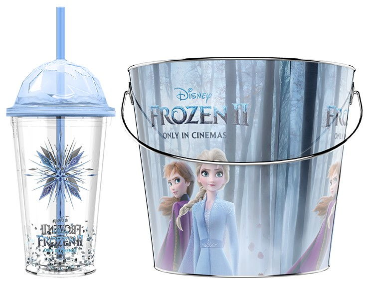 Frozen themed sparkle personalized tote gift  bag