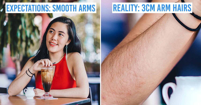 Hairy Girl Struggles Singapore Relatable