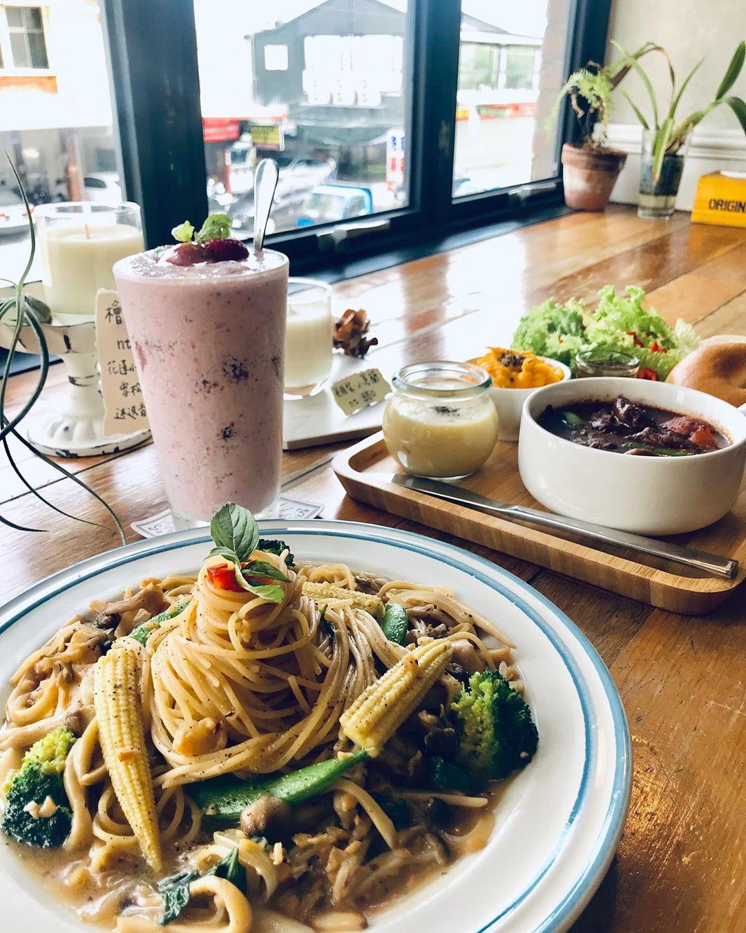 Wonderland Cafe Hualien pasta