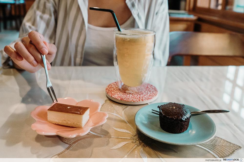 Qiu Chao Cafe dessert