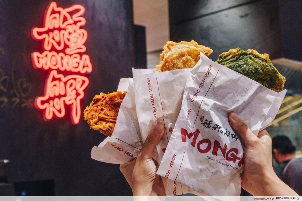 New F&B at Jem Monga Fried Chicken