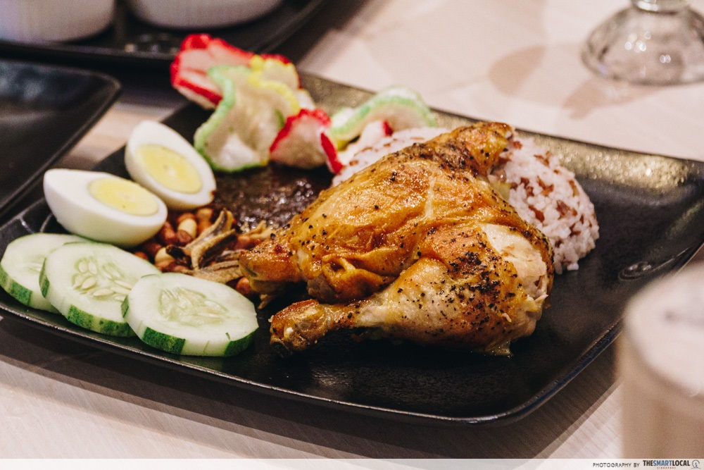 Kenny Rogers Is Back In Singapore At Jem With Other New Food Like Famous Chicken Rice From Bkk