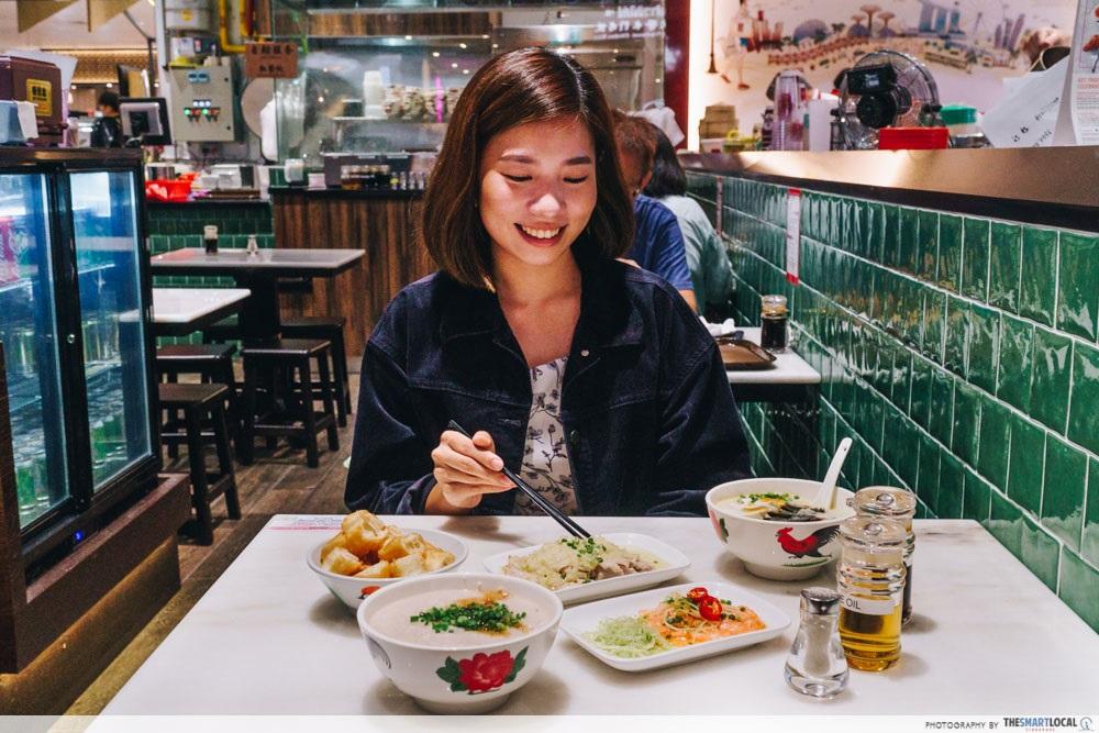 New F&B at Jem Ah Chiang Porridge