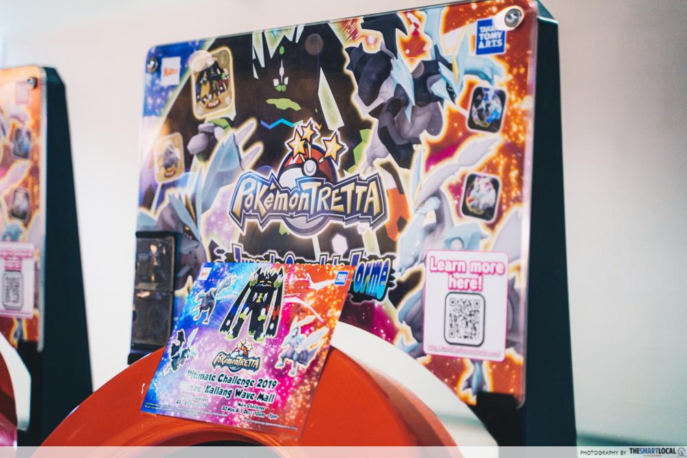 Kallang Wave Mall Pokemon TRETTA