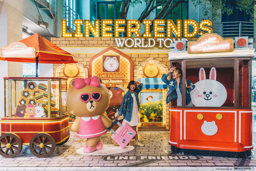 LINE FRIENDS in Istanbul - Bugis Junction