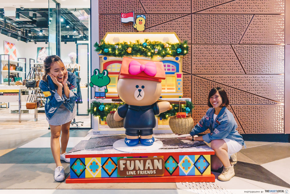 LINE FRIENDS in Singapore - Funan