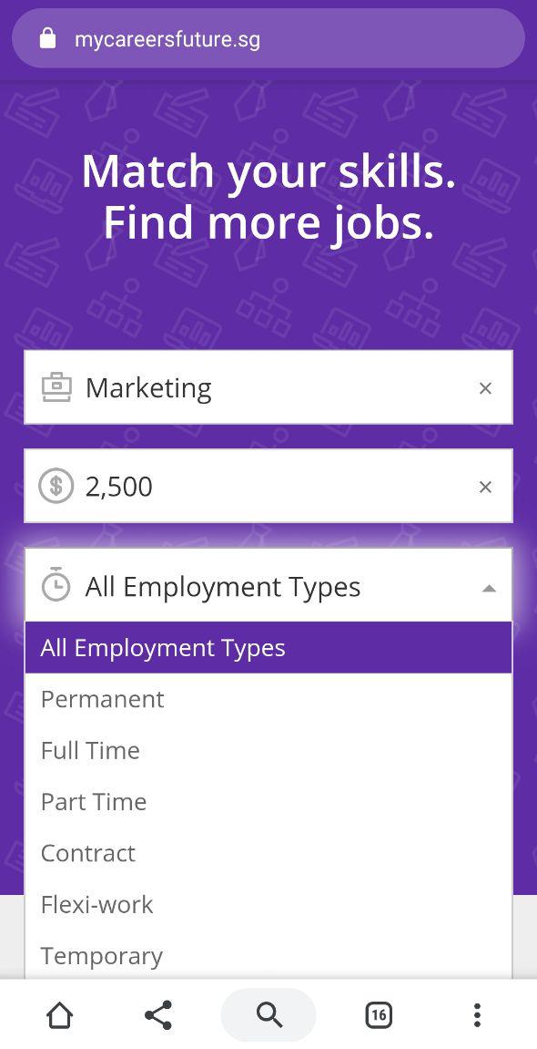 Skill Matching Job Seeking Website