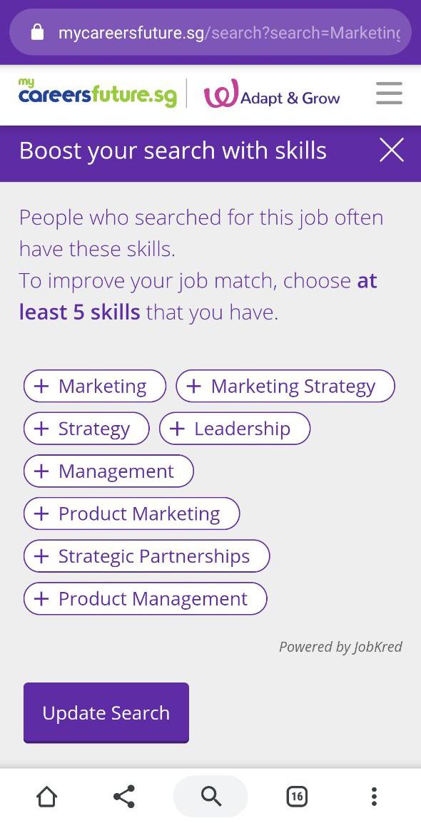 Boost Search Skills My Careers Future Job Seeking App