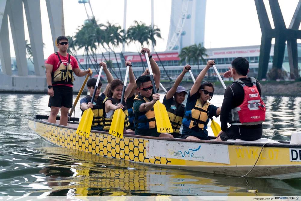 Kayaking Marina Barrage Singapore