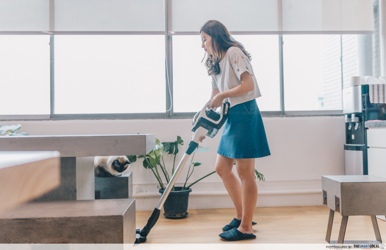 Incidental Exercise Vacuuming House