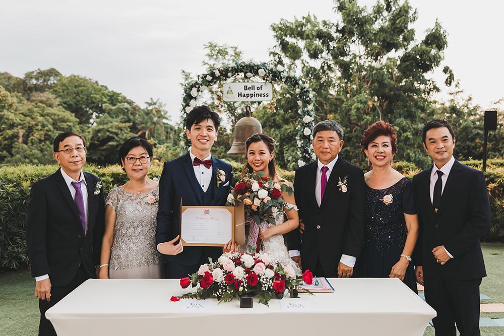 Faber Peak Non-Hotel Wedding