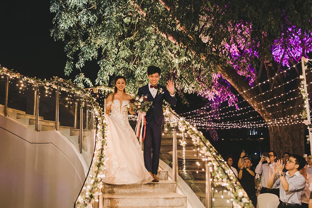 Non-Hotel Wedding Arbora Faber Peak Singapore