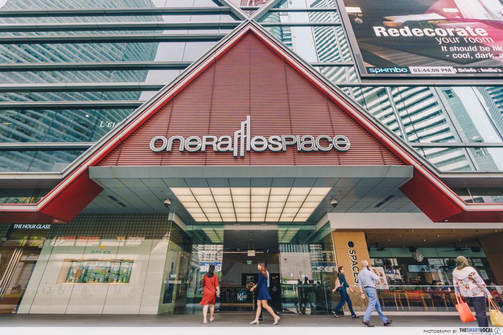 One Raffles Place Singapore Shopping Centre