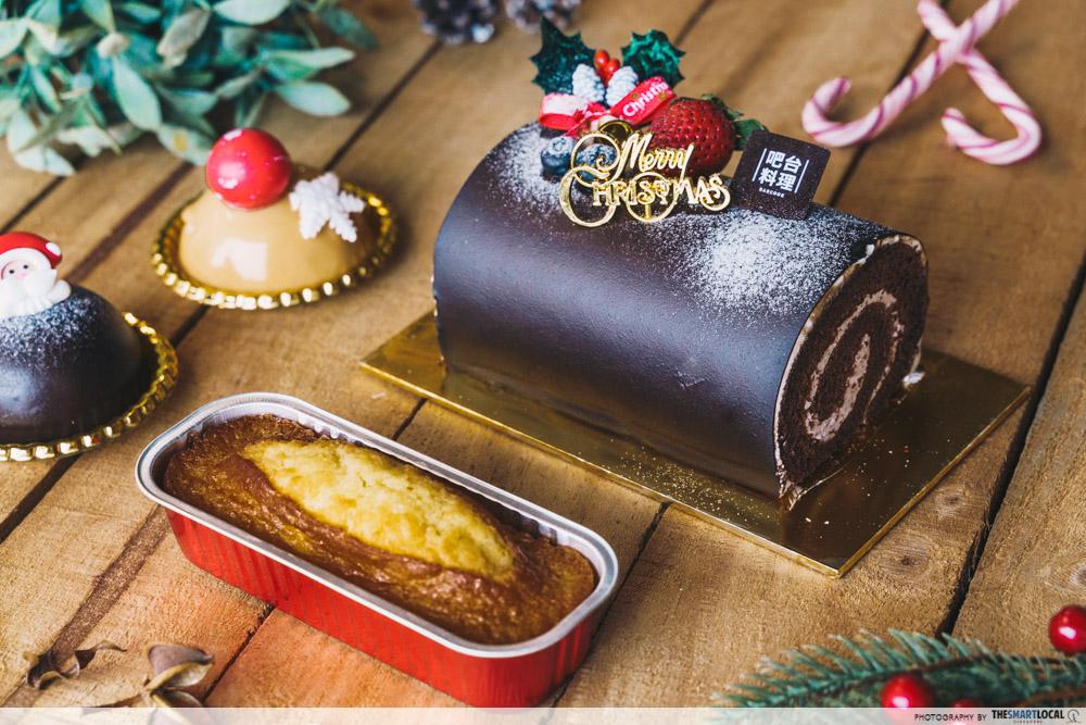 Barcook Bakery Log Cake