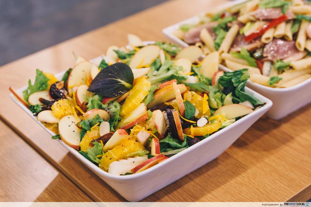 Munch Saladsmith Christmas Food