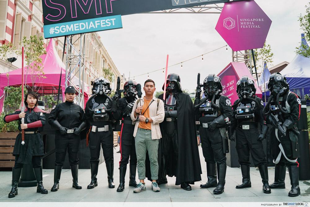 Star Wars Cosplay Singapore Media Festival 2019