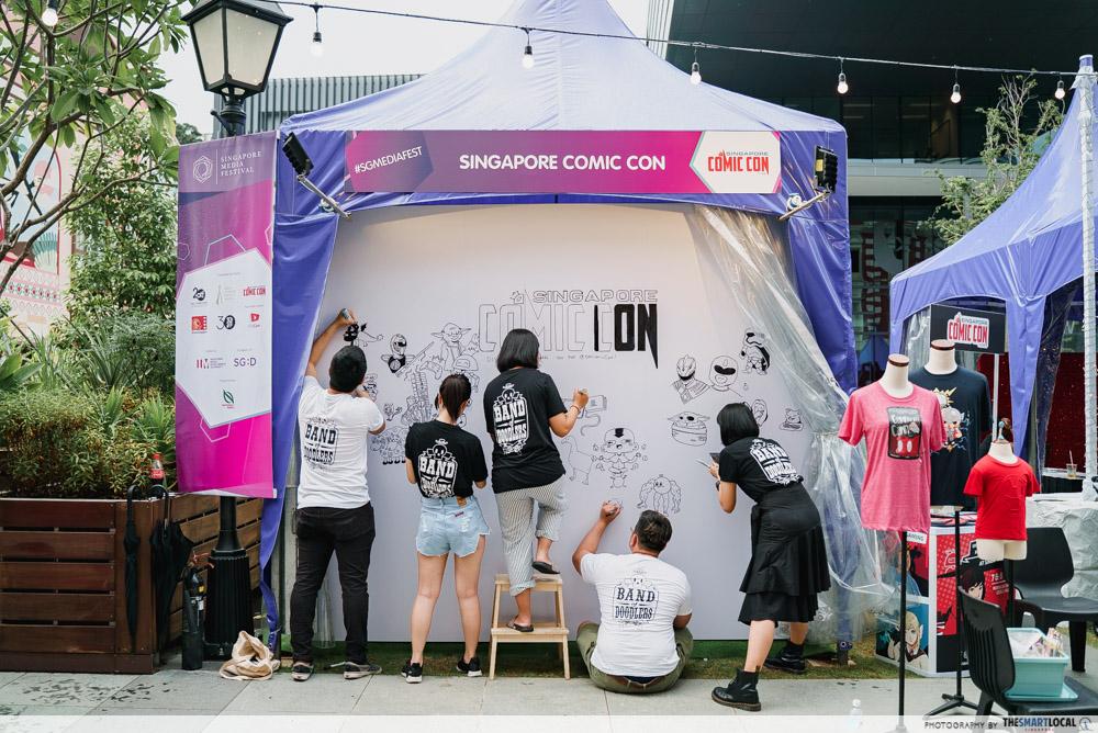 Singapore Media Festival 2019 Band of Doodlers