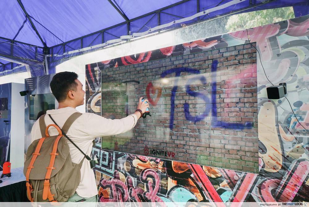 Singapore Media Festival 2019 VR Graffiti