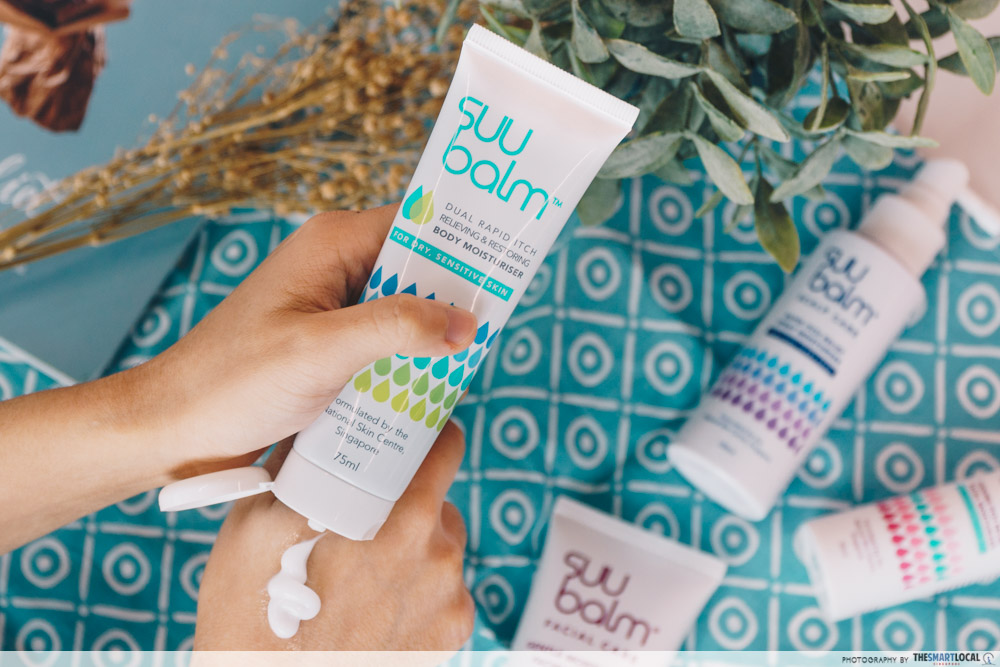 Suu Balm Sensitive skin eczema National Skin Centre