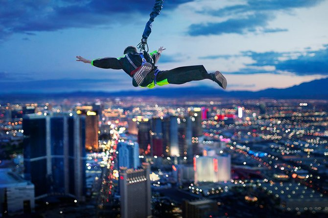 las vegas the stratosphere skyjump