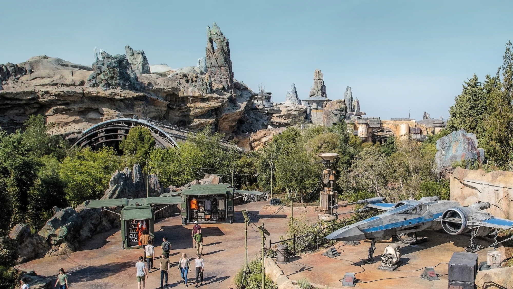 Star Wars: Galaxy's Edge disneyland
