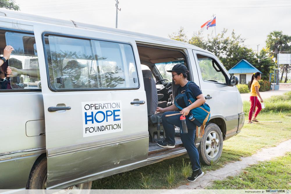 cambodia house charity OHF