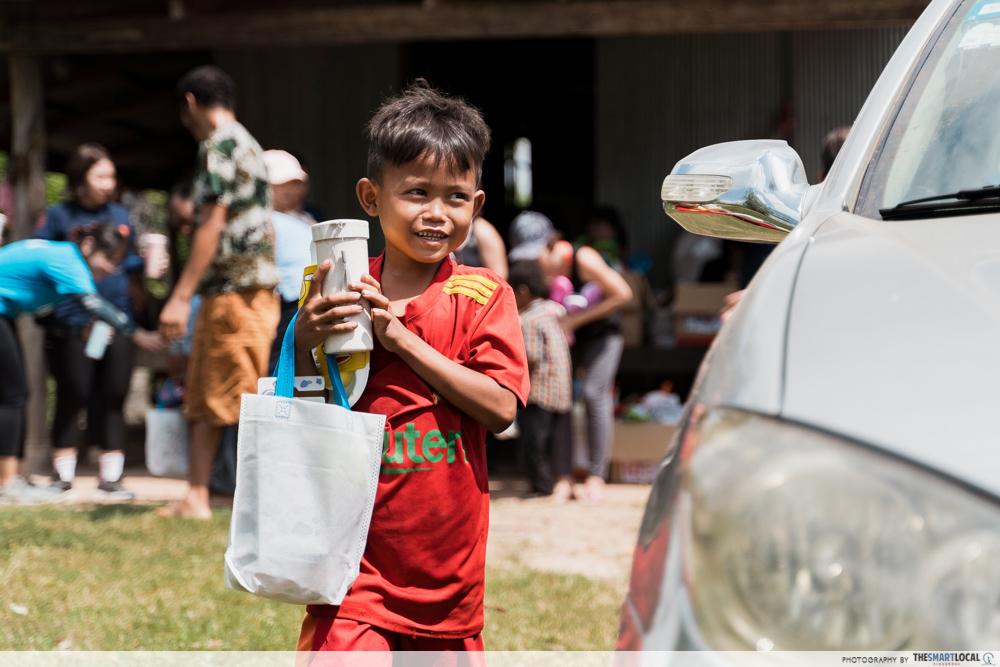 cambodia house charity milo