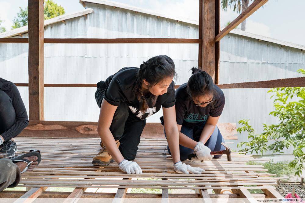 cambodia house charity hammer