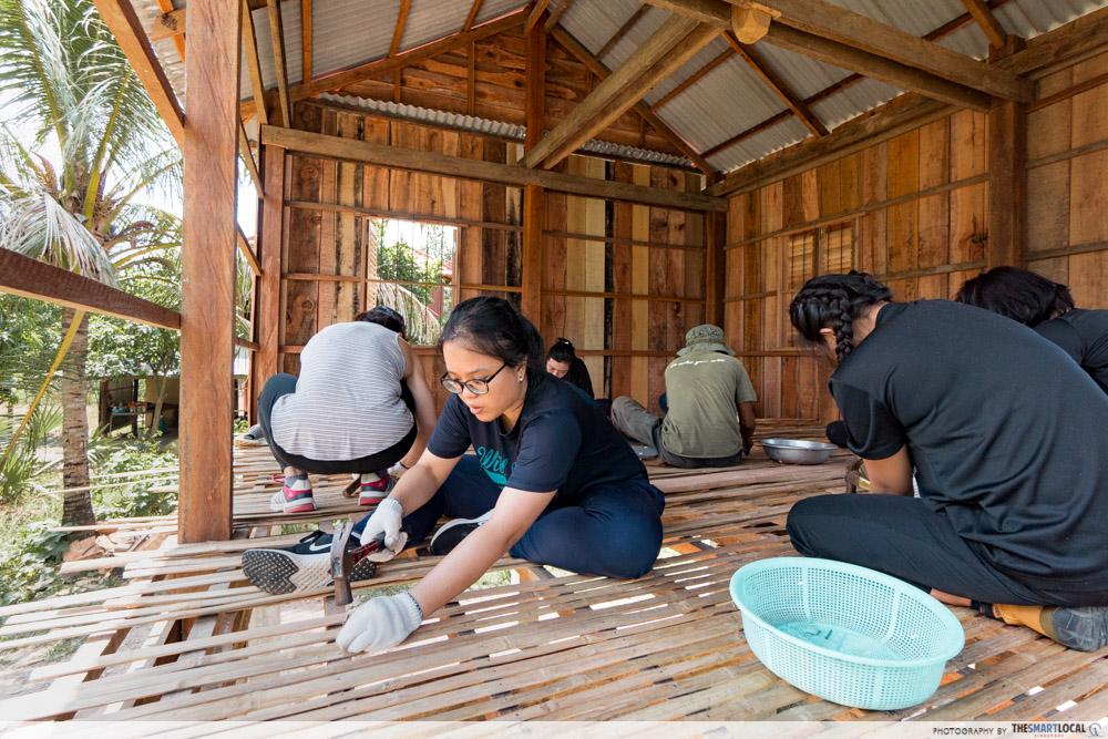 cambodia house charity nail