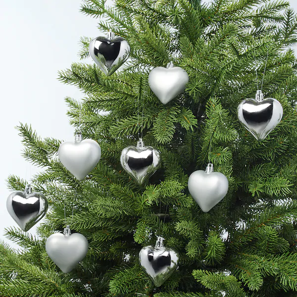 ikea heart shape bauble