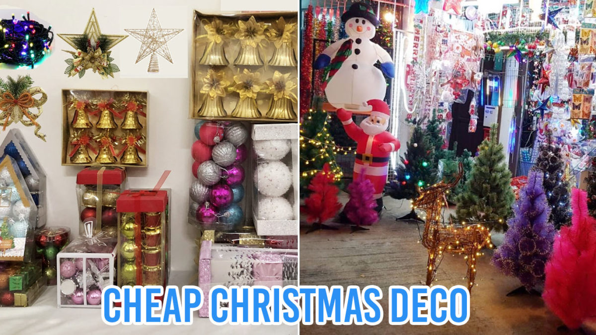 7 Shops With Cheap Christmas Decorations To Deck Your Halls With In Singapore