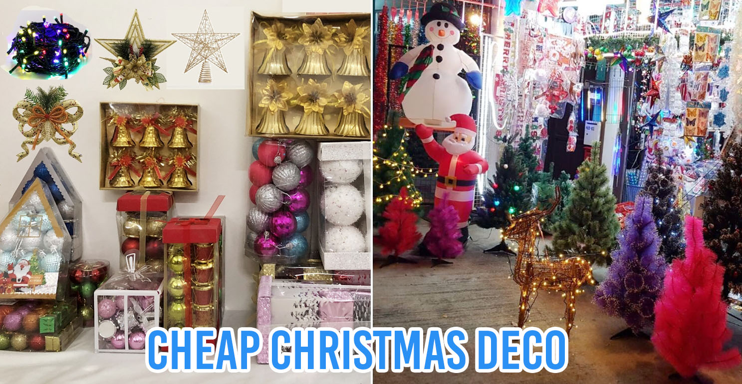 cheap christmas decor in singapore 5