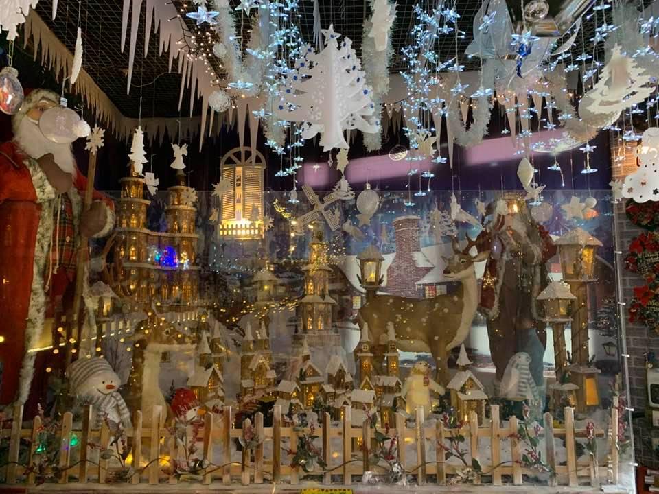 Henry Christmas Wholesaler display