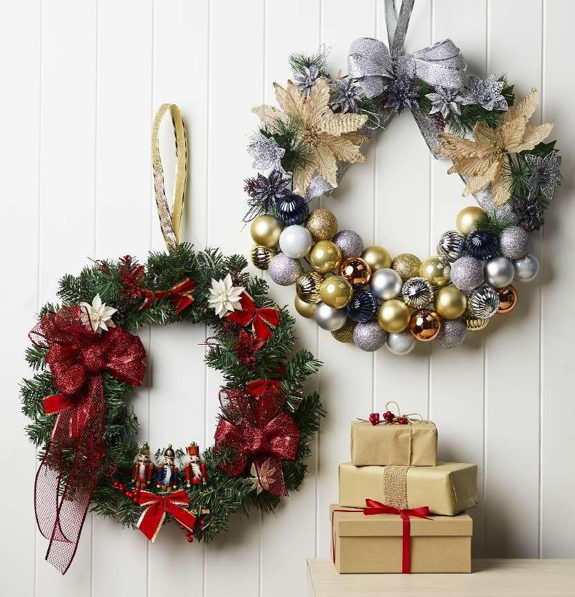 spotlight diy wreaths
