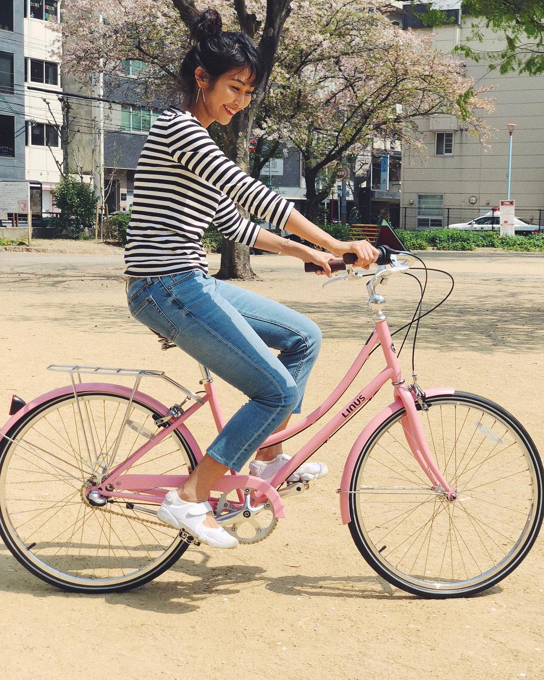 dutchi 3 pink bicycle