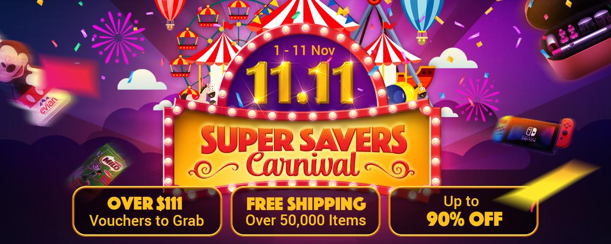 ezbuy 11.11 sale - super savers carnival