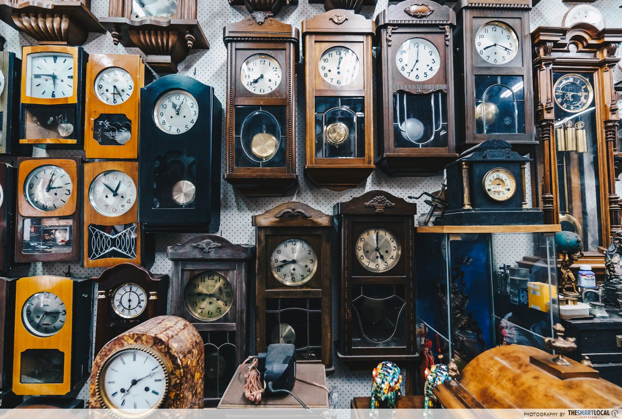 guide to online shopping - mini grandfather clocks