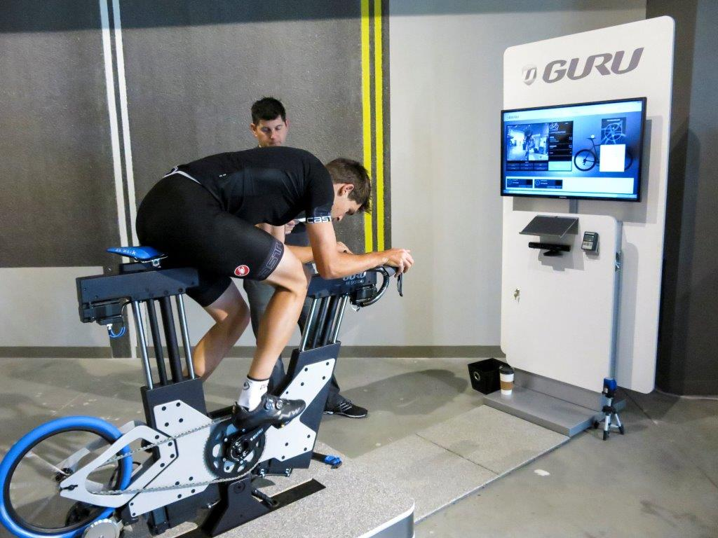 guru bike fit service in singapore