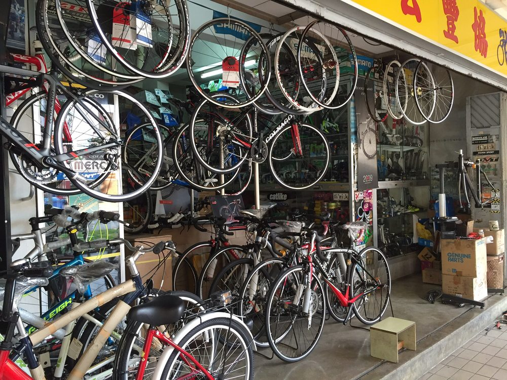 heap hong and co bike shop