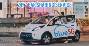 BlueSG Car Sharing Service