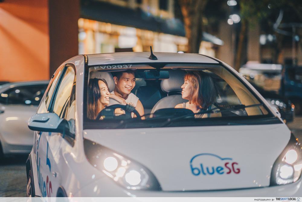 BlueSG Car Sharing