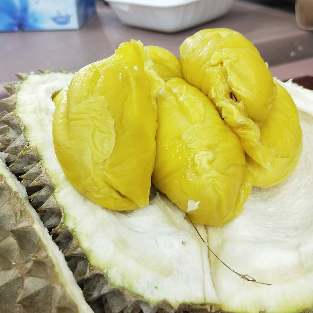 durian opened