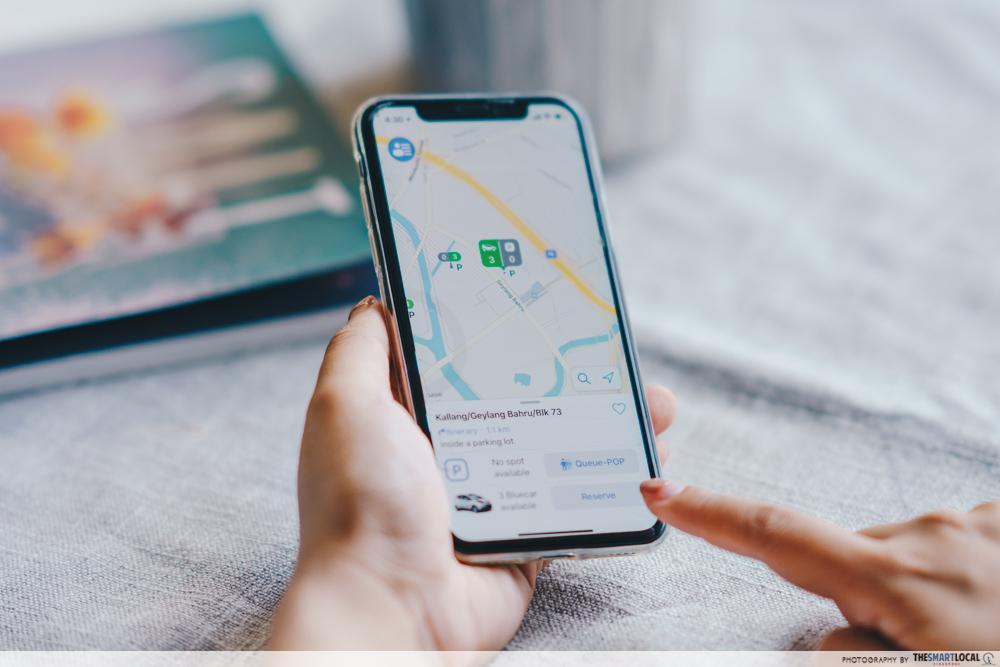 BlueSG 24/7 car sharing App