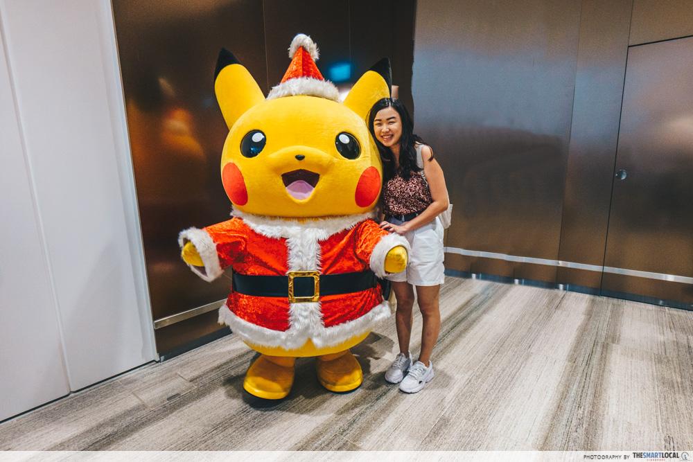jewel changi pokemon center pikachu