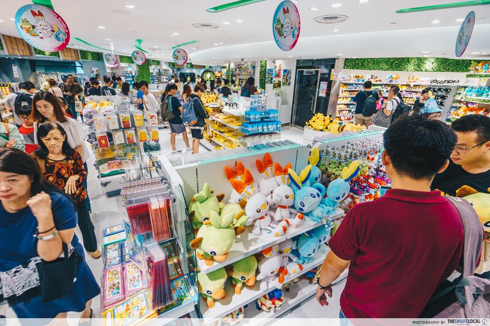 jewel changi pokemon center store